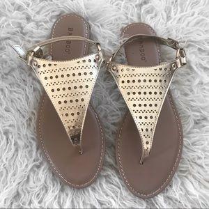 Shoes - Gold Sandals NWOT